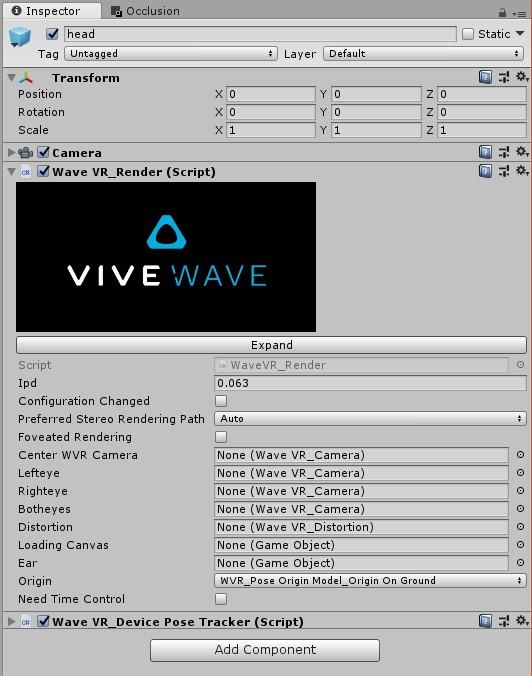 WaveVR_Render — Wave VR 3 1 1 documentation